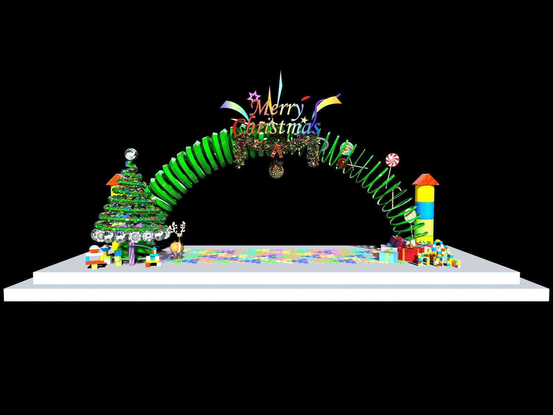 圣诞美陈-产品展示 - 杭州堃驰空间设计有限公司